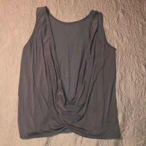 Size Medium Tresics Luxe Swoop Back Tank